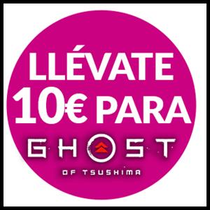 Ghost of Tsushima - 10€ descuento