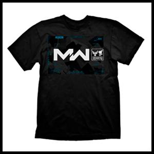 Camiseta CoD MW Negra Multiplayer Composition Talla L (REACONDICIONADO)