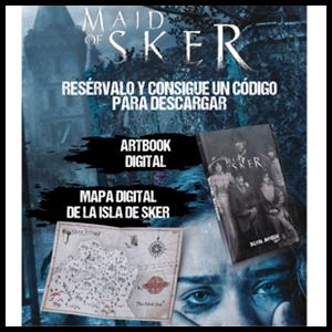 Maid of Sker - Art book + mapa del juego digitales