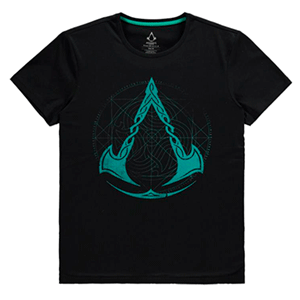 Camiseta Assassin´s Creed Valhalla - Crest Grid Talla S