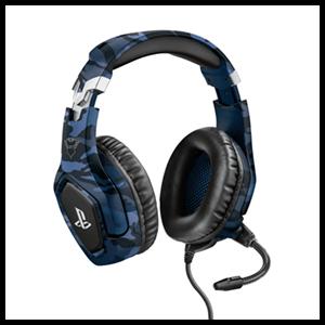 Auriculares Trust GXT488 Forze-B Camo azul -Licencia oficial-