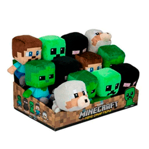 Peluche Mini Minecraft (REACONDICIONADO)