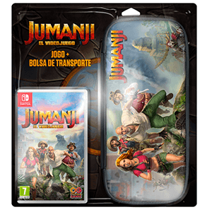 Jumanji El Videojuego  + Case Bundle Switch