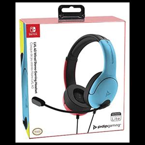 Auriculares PDP LVL40 Azul/Rojo -Licencia oficial-