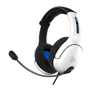 Auriculares PDP LVL50 Blancos PS5-PS4 -Licencia oficial-