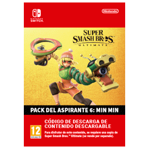 Super Smash Bros Ultimate - Min Min Challenger Pack NSW