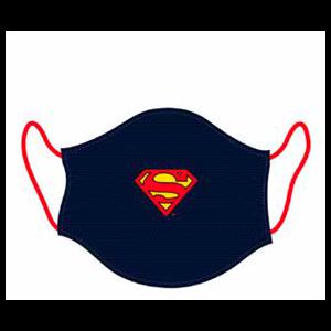 Mascarilla Superman Azul Oscuro Grande