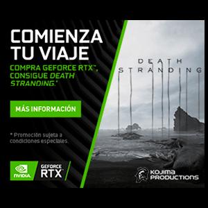 Token Deadth Stranding PC promoción NVIDIA