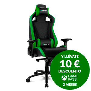 DRIFT DR500 Negro-Verde - Silla Gaming