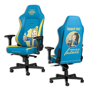 noblechairs HERO - Fallout Vault-Tec Edition - Silla Gaming