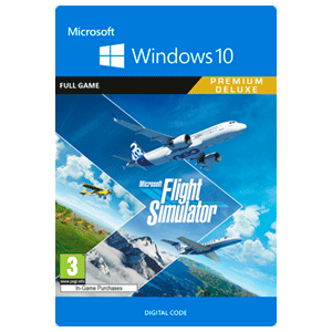 Microsoft Flight Simulator Premium Deluxe Edition Win 10