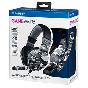 Auriculares Gaming Estéreo GAMEware Camuflaje