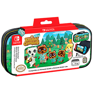 Game Traveller Deluxe Travel Case  NNS39AC Animal Crossing -Licencia oficial-