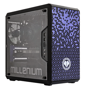 MILLENIUM MM1 Mini R206 - R5 - 600 - RTX 2060 - 16GB - 1TB HDD + 500GB SSD - W10 - Sobremesa Gaming