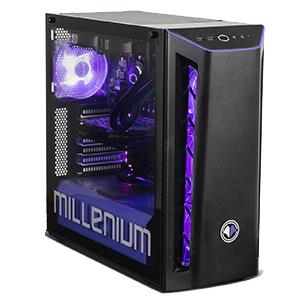 MILLENIUM MM1 R207S - R5 3600X - RTX 2070 - 32GB - 1TB HDD + 500GB SSD - W10 - Sobremesa Gaming