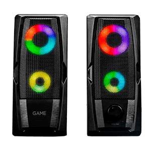 GAME SP210 2.0 RGB Speaker - Altavoces