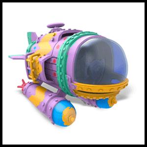 Figura Skylanders Superchargers Vehiculo Dive Bomber (REACONDICIONADO)