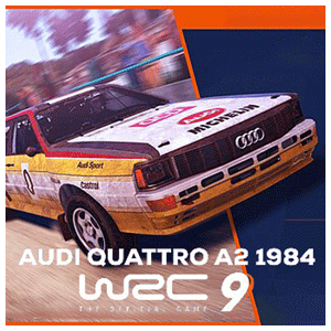 WRC 9 + DLC Audi Quattro A2 1984
