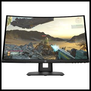 HP X24c  - 23,8'' FHD VA 144Hz Freesync - Monitor Gaming Curvo