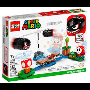LEGO Super Mario Set de Expansión: Avalancha de Bill Balazos