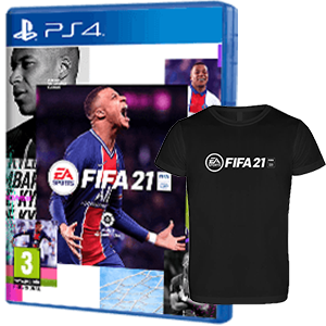 FIFA 21 PS4 + Cam. Téc. L PS4