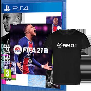FIFA 21 PS4 + Cam. Téc. XL PS4