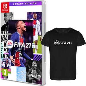 FIFA 21 Legacy Edition NSW + Cam. Téc. M NSW