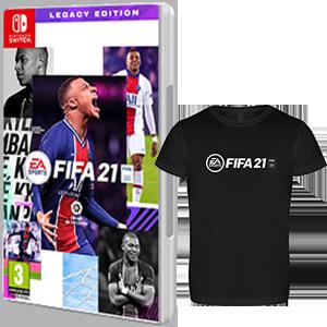 FIFA 21 Legacy Edition NSW + Cam. Téc. XL NSW