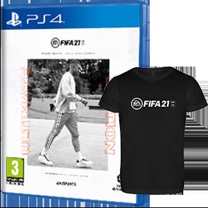 FIFA 21 Ultimate Edition + Cam. Téc. L PS4