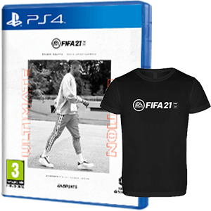 FIFA 21 Ultimate Edition + Cam. Téc. XL PS4