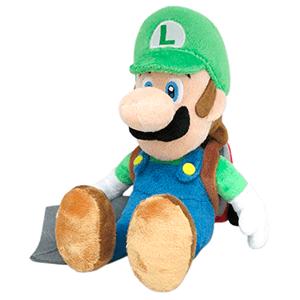 Peluche Nintendo: Luigi con Poltergust 5.000 26cms
