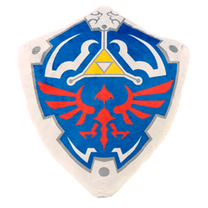 Cojín The Legend of Zelda: Escudo 40cm