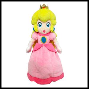 Peluche Nintendo: Princesa Peach 27cms