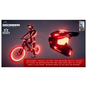 Descenders + DLC Legacy Lux Set NSW