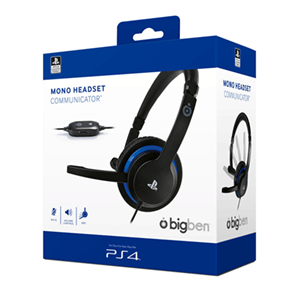 Auricular Mono Headset Communicator - Licencia Oficial PS4