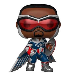Figura Pop Falcon y el Soldado de Iniverno: Capitán América