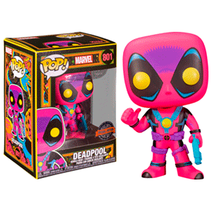 Figura Pop Marvel: Deadpool Blacklight