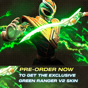 DLC Skin Power Ranger Verde PS4