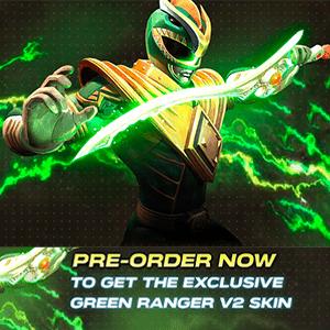 DLC Skin Power Ranger Verde NSW