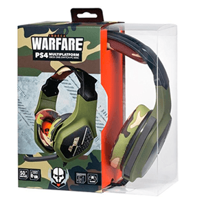 Auriculares Indeca Warfare 2019 PS4-XONE-NSW-PC