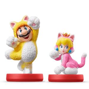 Pack amiibo Mario Felino y Peach Felina