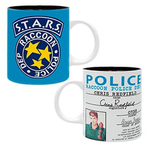 """Taza Resident Evil 320 ml """"Police Badge"""""""