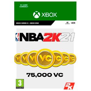 NBA 2K21 75.000 VC XONE & XSX