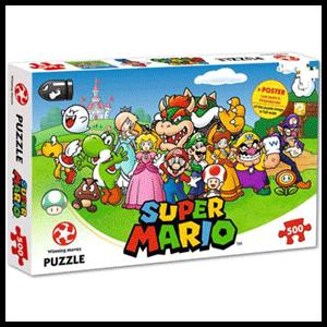 Puzzle Super Mario 500 piezas
