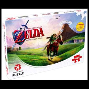 Puzzle The Legend of Zelda Ocarina of Time 1000 piezas