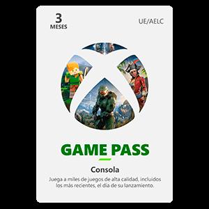 Xbox Game Pass Consola  3 Meses