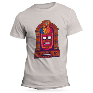 Camiseta Crash Bandicoot Aku Aku Talla L