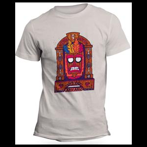 Camiseta Crash Bandicoot Aku Aku Talla M