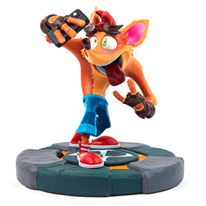 Estatua 3D Crash Bandicoot