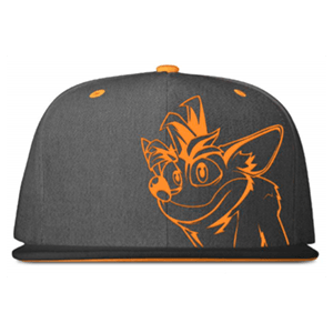 Gorra Crash Bandicoot Bordada